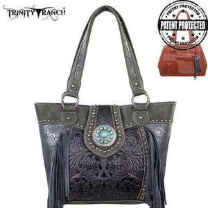 Trinity Ranch Tooled Design Concealed Carry Bag